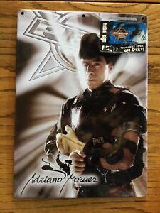 NEW ADRIANO MORAES PBR RODEO COLOR PHOTO METAL SIGN ...Adriano Moraes Bull Rider