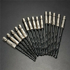 15pcs-3-4-5mm-HSS-1-4-Inch-Hex-Shank-Twist-Drill-Bit