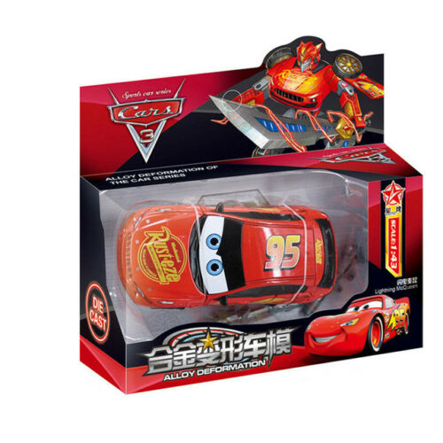 Cars Lightning Mcqueen Transformers Robot Toy Kids Toys