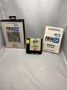 FIFA-95-SOCCER-Sega-Mega-Drive-gioco-in-scatola-con-manuale-GRATIS-P-amp-P