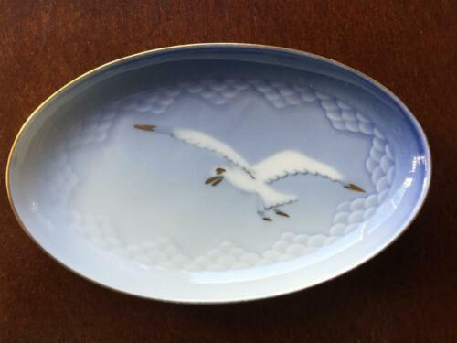SEAGULL small Dish Bing Grondahl B/&G Denmark # 232 Rare 4 3//4 inches