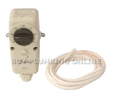 Danfoss ATC Electromechanical Hot Water Cylinder Thermostat Stat Strap 041E0010