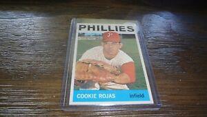1964-TOPPS-448-COOKIE-ROJAS-BASEBALL-CARD