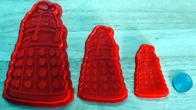 Dr. Who Dalek - Cookie Cutter - Choice of Sizes - 3D Printed Plastic