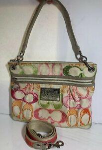 Coach-Poppy-Shoulder-Handbag-Multi-Color-Womens-Purse-17049-Crossbody