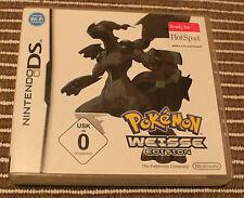 Pokemon Perl Edition & Pokemon Weisse Edition - Nintendo DS - TOP / CIB