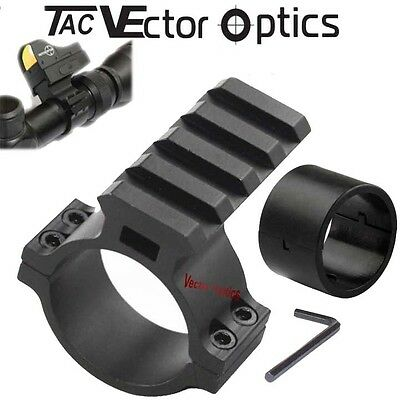 "Vector Optics Scope Barrel Mount 1"" / 30mm Ring Adapter w/ Weaver Picatinny Rail"