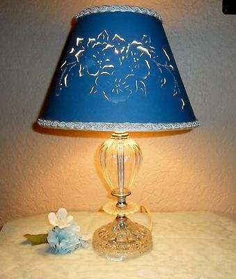 2019 Fashion Beautiful Antique Arts Glass Boopie Balls Lamp Original Cut Out Blue Lamp Shade Decorative Arts Lamps
