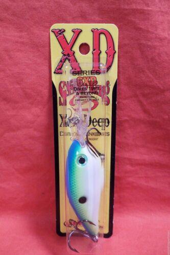 STRIKE KING Series 6XD Xtra-Deep Diving Crankbait #HC6XD-534 Citrus Shad