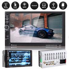 "Bluetooth 7 ""HD 2DIN  Dash Car Stereo Radio MP3 Player GPS Navigation / USB / FM"