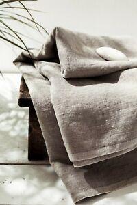Natural-linen-sheet-Stone-washed-SPA-massage-towel-Flax-beach-sheet-Sauna-gift