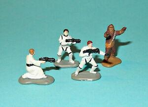 STAR-WARS-Micro-Machines-DEATH-STAR-ESCAPE-SET-Luke-Leia-HanSolo-figures-lot-P