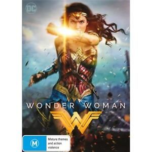 Wonder Woman - DVD - Region 4 - AUS PAL - Brand New - Gal Gadot