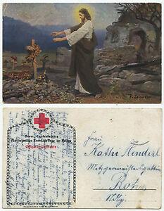31850-Jesus-wandelt-ueber-Soldatengraeber-Bayer-Landeskomitee-Krankenpflege