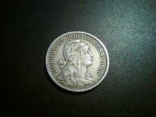 1929 moneda de 50 centavos Portugal. Excelente grado ef