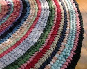Image Is Loading Toothbrush Rag Rug Instructions For Round