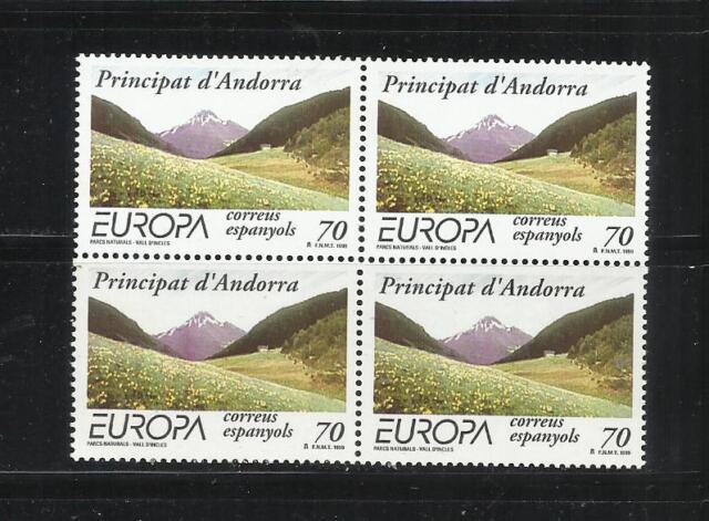 ANDORRA ESPAÑOLA. Año: 1999. Tema: EUROPA C.E.P.T.