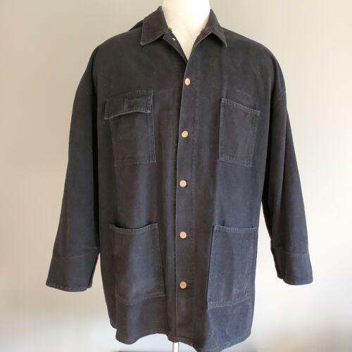 Vintage Cross Colours Long Jean Jacket Coat Size 2