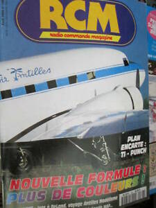 Details about Radio Commande Magazine (RCM) French Avril 1995 #168-TI-Punch  Plans