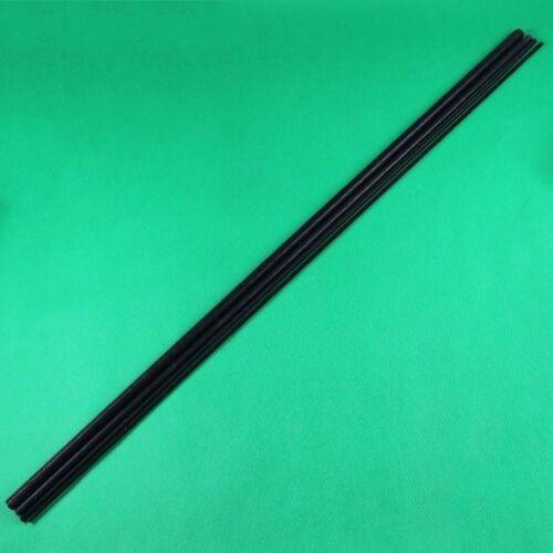 QTY Threaded Rod Carbon Steel Grade 12.9 Black Zinc M2 M2.5 M3 M4*250 1PCS
