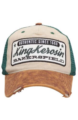 Trucker Hat Vintage Style Snapback Baseball Cap by King Kerosin