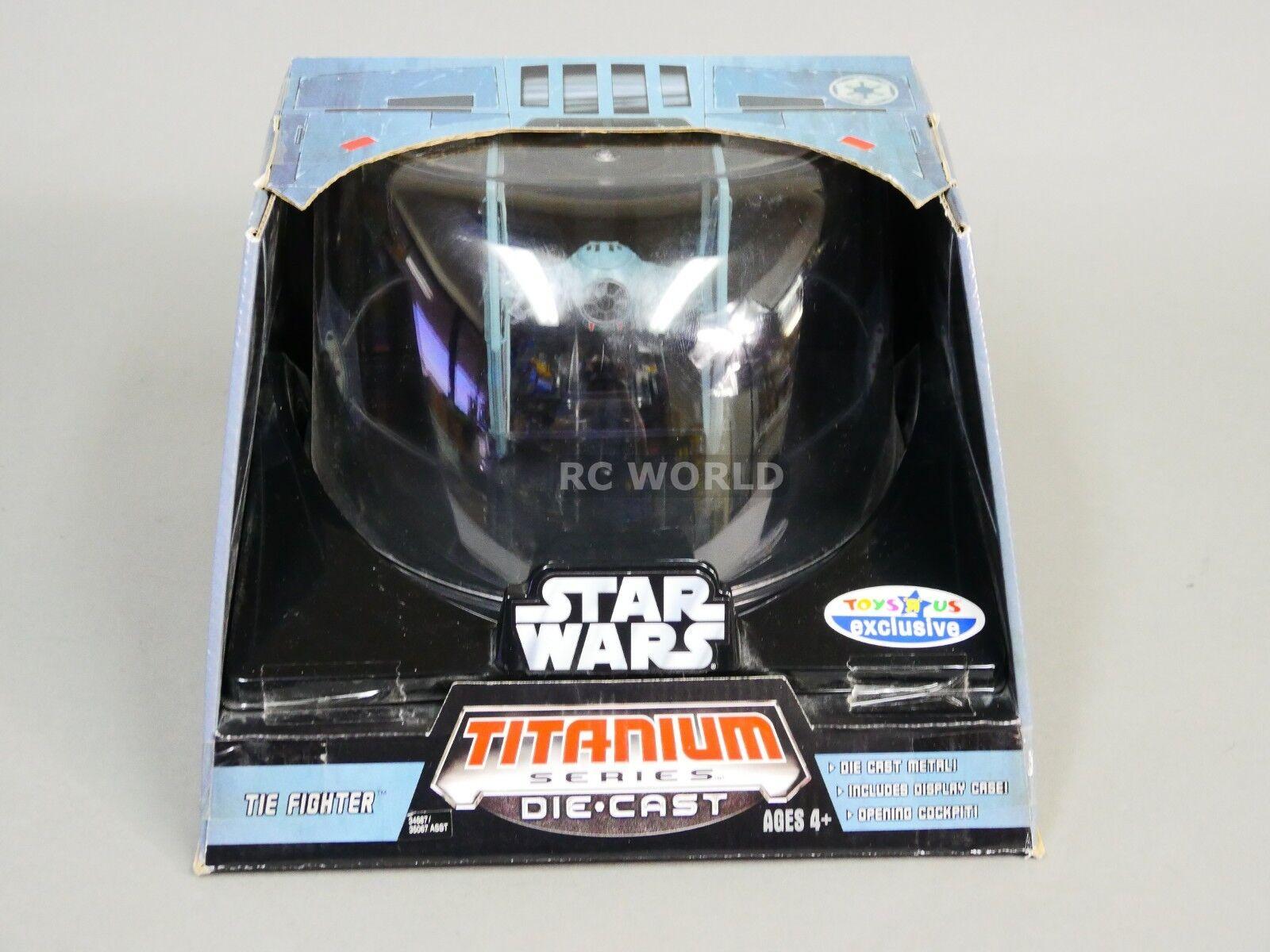 Star - wars - reihe krawatte kämpfer druckguss modell   ob1