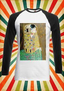 Men's Clothing The Kiss Gustav Klimt Oil Painting Men Women Vest Tank Top Unisex T Shirt 1723 T-Shirts