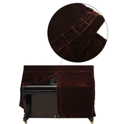 Coffee Piano Full Cover Klavierabdeckung Staubtuch für Klavierstimmen