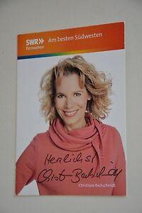 Christiane Bachschmidt