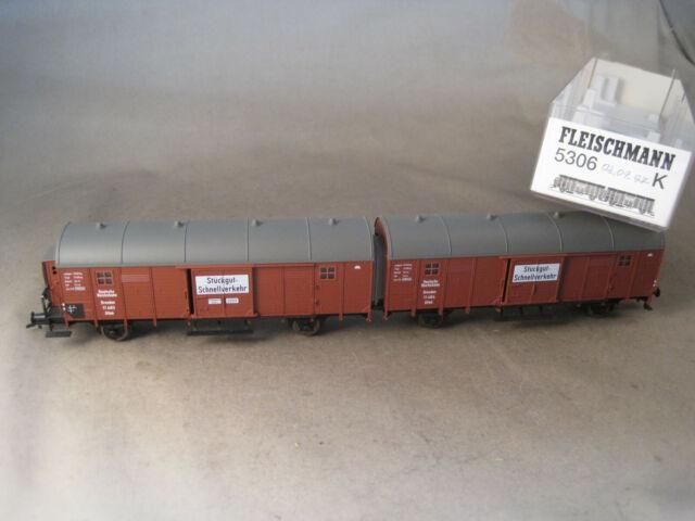 Fleischmann H0 schöner Güterwagen mit OVP 5306K
