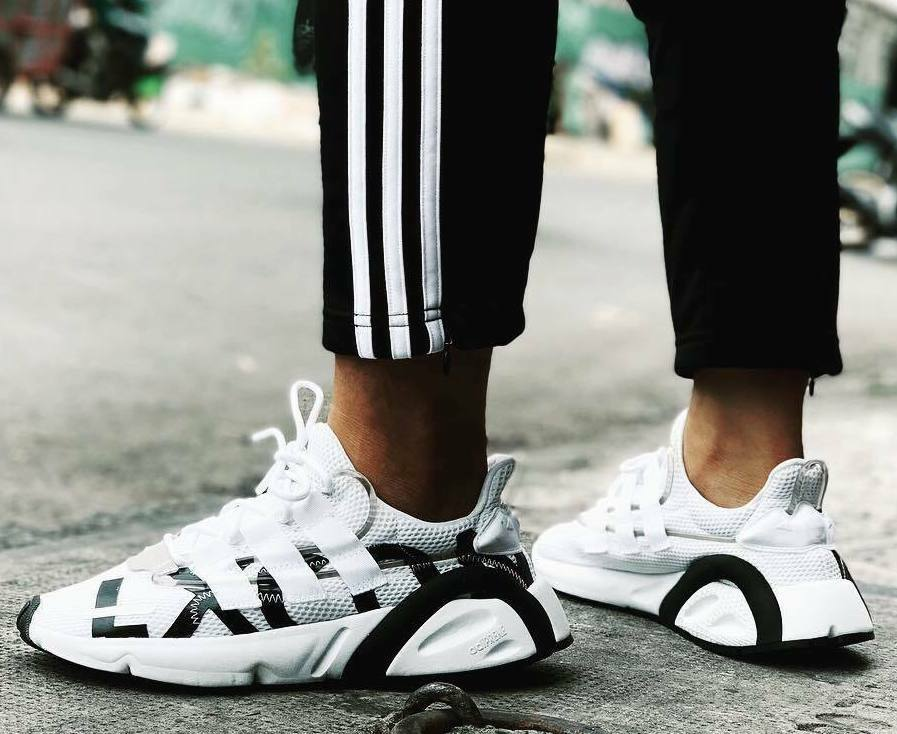 Neu Adidas Original Lexcon Turnschuhe Herren Weiß Schwarz Alle Größen