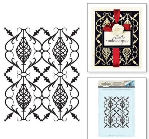 Rebel Forged Iron Rubber Stamp Spellbinders Designer Series