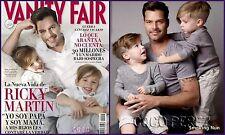 VANITY FAIR,Ricky Martin,Michael Fassbender,Kirsten Dunst,Jean Dujardin,Madonna