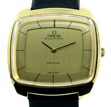 Vintage Omega DeVille Gold Plated Steel Automatic 36mm Men's Watch Ref: 151.0051