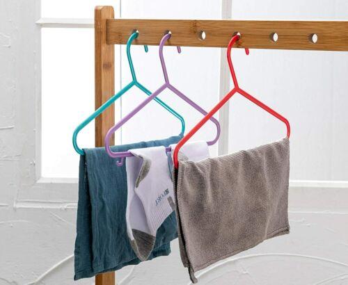 40 Pack Children/'s Hanger Plastic Tubular Kids Hangers Non Slip Clothes Hanger