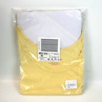 Yellow Tank Top 100% Cotton Size 1x (22-24w) From Woman Within Ships Free
