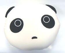 "Snow Foam Micro Beads 13""-14"" Japanese Tare Panda Head Cushion Pillow-Brand New"