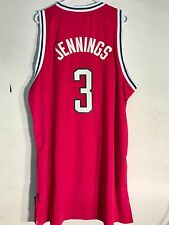 Adidas Swingman NBA Jersey Milwaukee Bucks Brandon Jennings Red sz 2X
