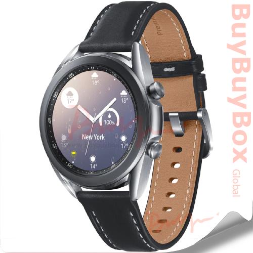 SAMSUNG Galaxy Watch3 Stainless 41mm (Bluetooth) SM-R850 Mystic Silver