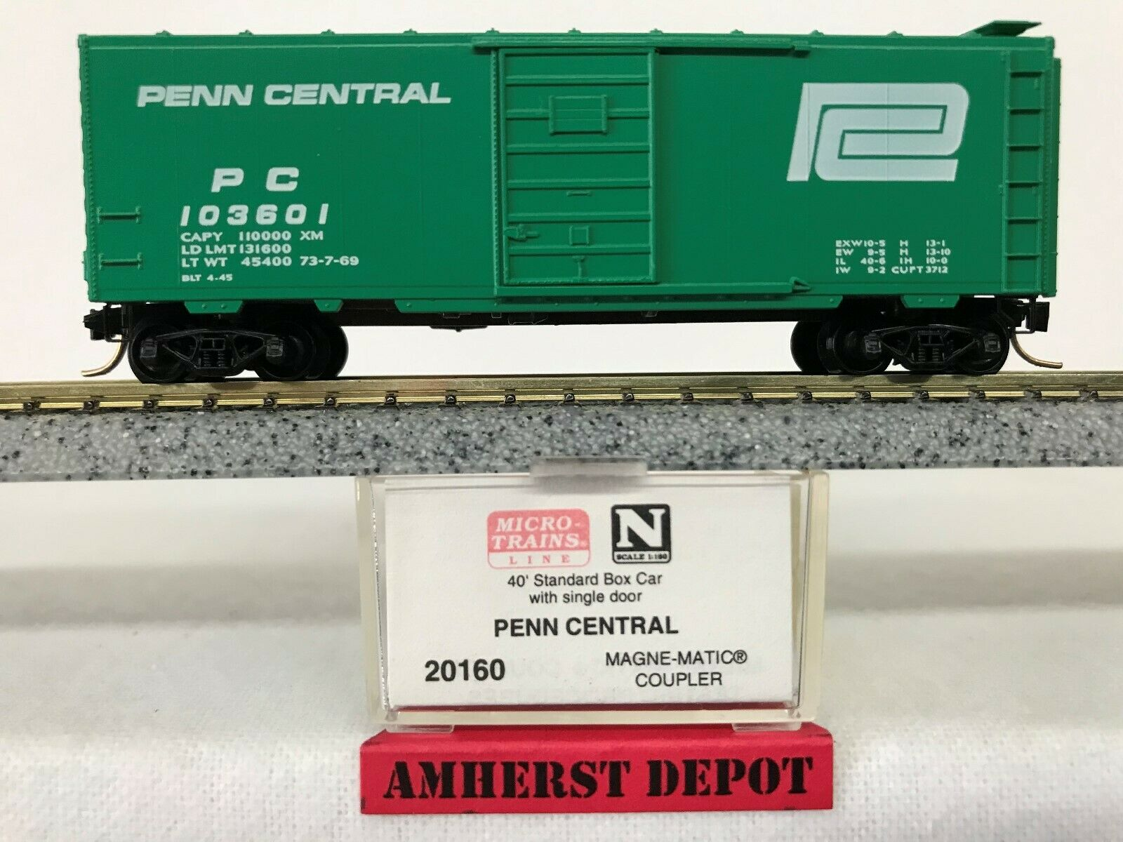 N Scale 40/' Box Car Lot Micro Trains...- Reefer etc// Combined Shipping Atlas