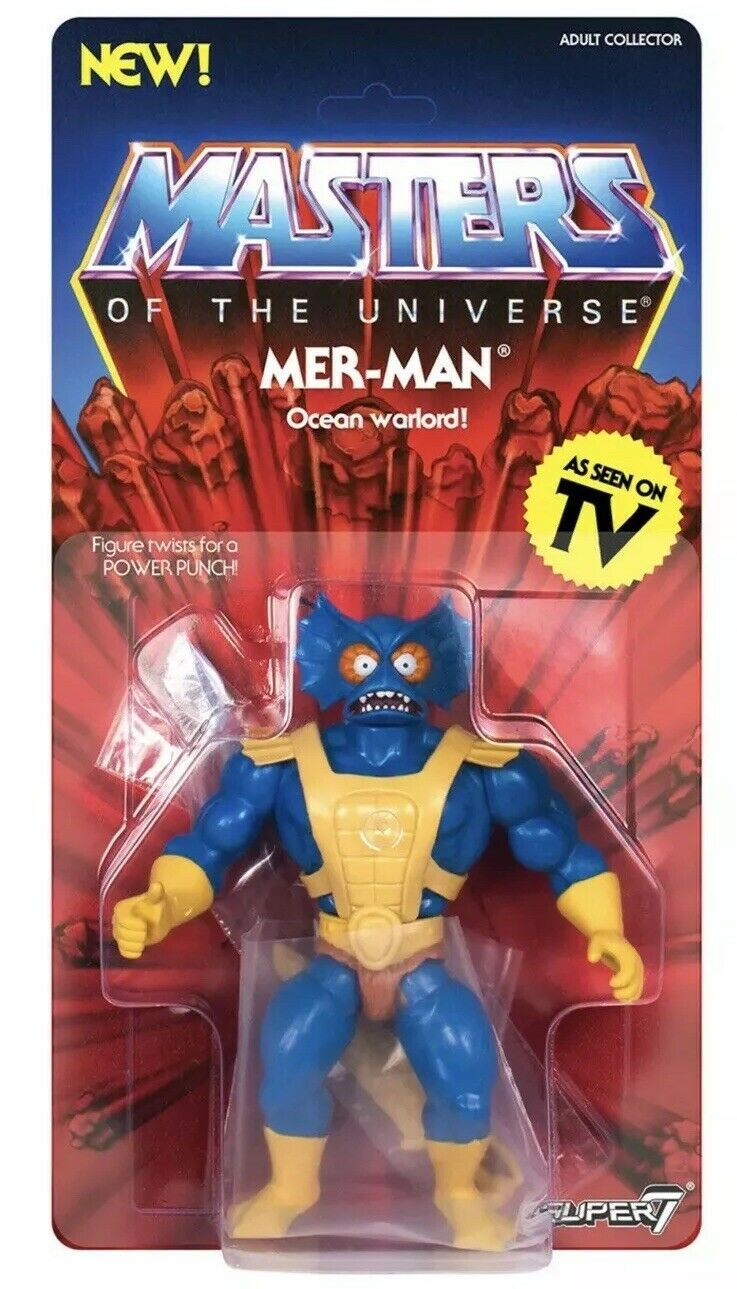 Mer-Man (Masters of the Universe) Met-Man Retro Figure Wave 3 by Super7