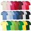 GILDAN-T-shirt-Uomo-Cotone-Tinta-Unita-Manica-Corta-Top-T-shirt-Taglie-Colori-al-Neon-tee miniatura 1