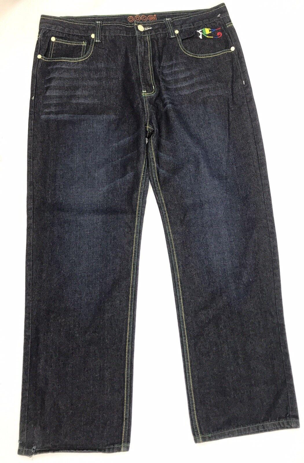 Coogi Men Jeans Dark bluee Denim Size 42 x 34