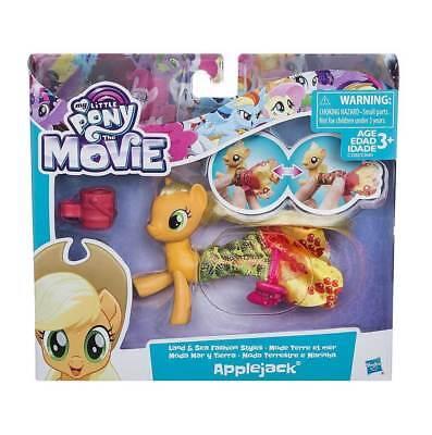 Sweet-Tempered Apple Jack My Little Pony Land & Sea Pony Fashion Style Toy Playset Xmas Gift