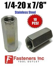 Qty 10 14 20 X W38 X L78 Stainless Steel Threaded Rod Coupling Nuts