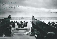 Ben Berger signed autograph WW II D-Day Ranger Point Du Hoc VERY Rare LOOK!
