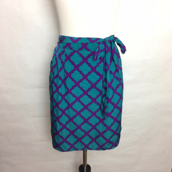 Anthropologie Mgoldccan Print Skirt Size L