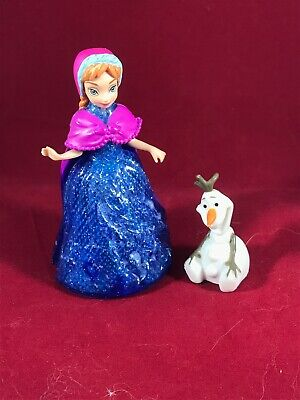 DISNEY PRINCESS FROZEN LITTLE KINGDOM ELSA ANNA /& OLAF GLIDER DOLLS MAGIC CLIP