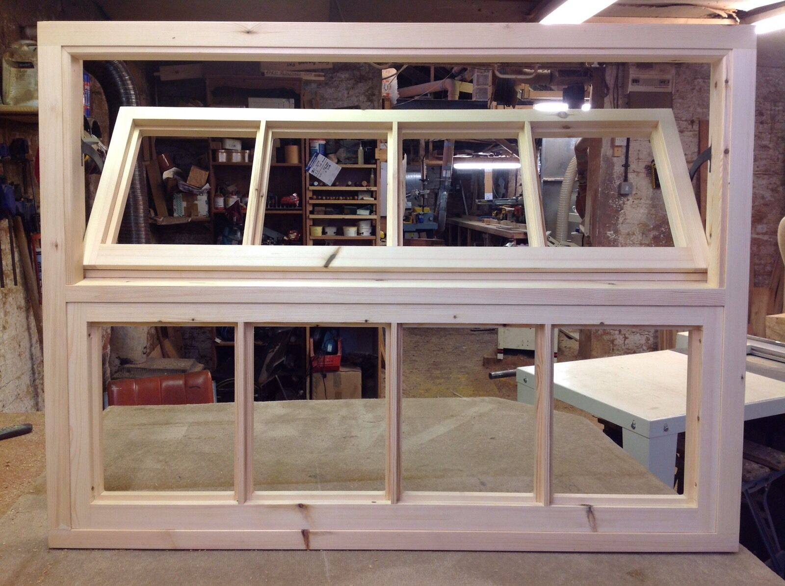 Handcrafted Stable Window, Farm Building Window 48  X 36  (See Our Stable Doors)