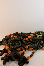 rosary beads prayer rope 50 knots big wood cross broyanitsa mequetaria vervitsa